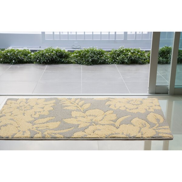 Rainville Ivory/Gray Area Rug by Charlton Home