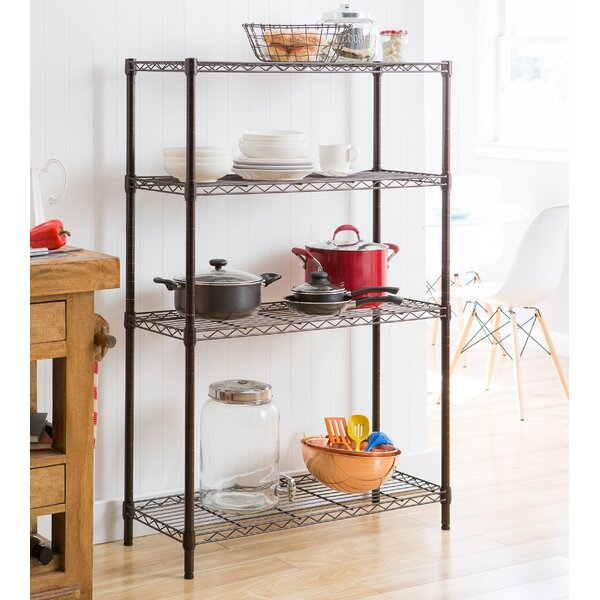 NSF Indoor Wire 54 H x 35.75 W Shelving Unit by Tr