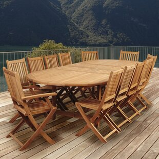 Catriona 13 Piece Teak Dining Set