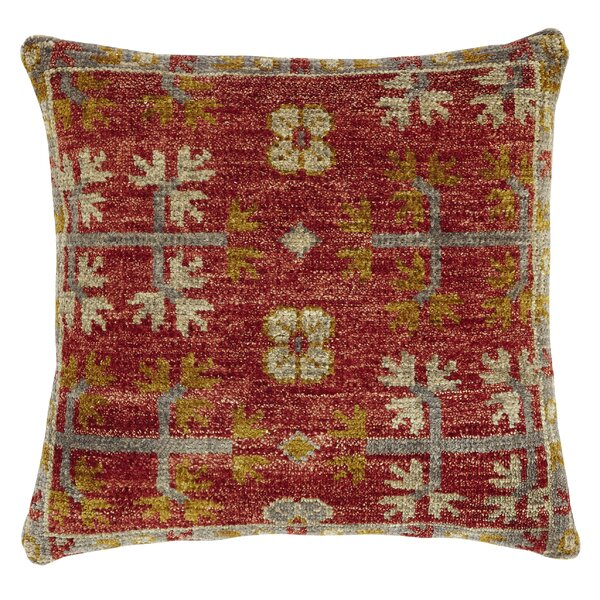 Bonilla Wool Throw Pillow by Bungalow Rose