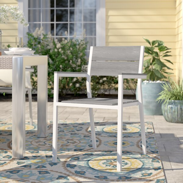 Briarcliff Patio Dining Chair by Sol 72 Outdoor