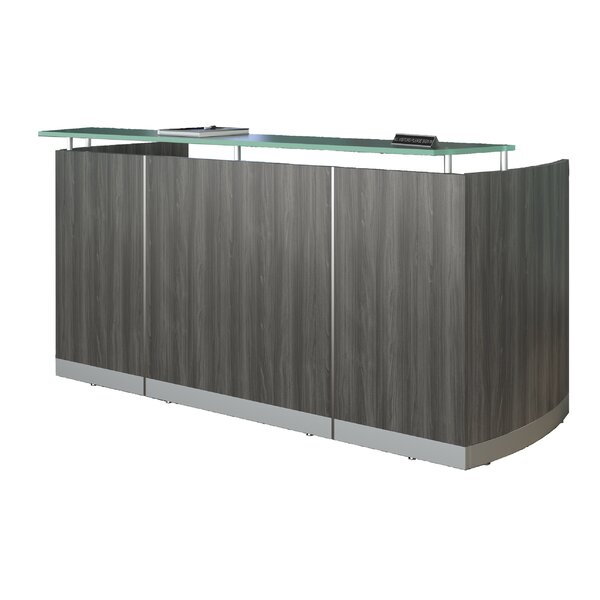 Medina Reception Desk by Mayline Group
