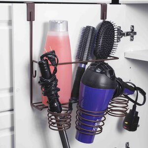 Wayfair Basics Over the Cabinet Hair Tools Holder