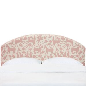 Chatelaine Curved Upholstered Panel Headboard by August Grove