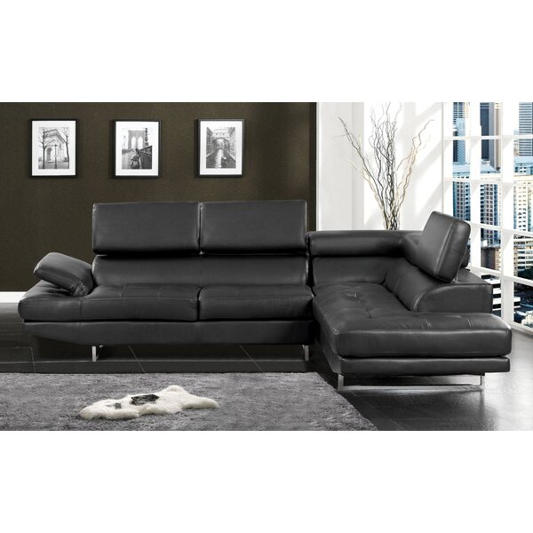 Connor Reclining Sectional by Hokku Designs