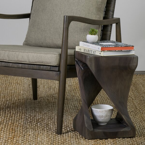 Toman End Table by Union Rustic