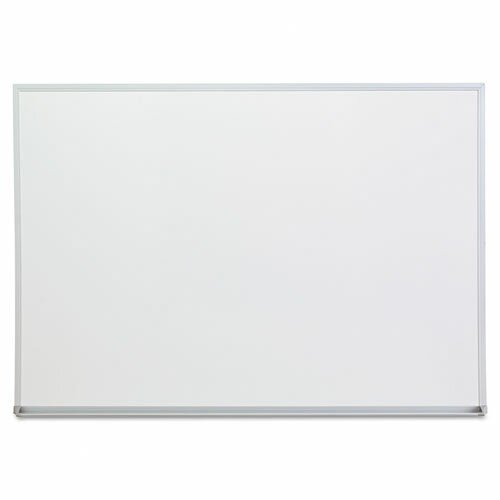 Aluminum Frame Dry-Erase Wall Mounted Whiteboard by Universal