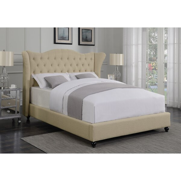 Greig Upholstered Standard Bed by Alcott Hill