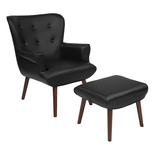 Lytle Wingback Chair by Ebern Designs