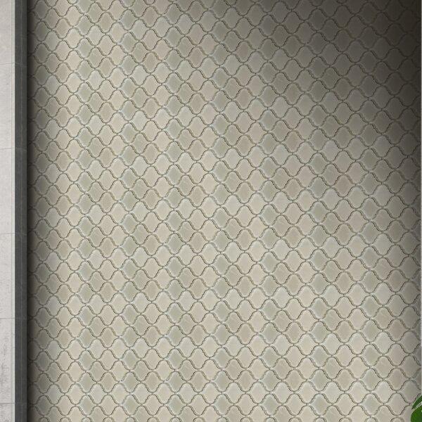 Britania 10 x 10 Glass Mosaic Tile