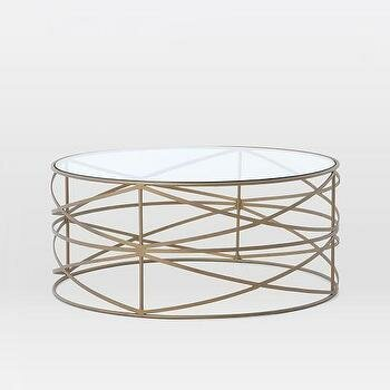 Lazarescu Stripes Coffee Table by Orren Ellis