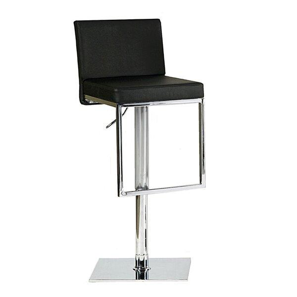 Ann Adjustable Height Swivel Bar Stool by Bellini Modern Living