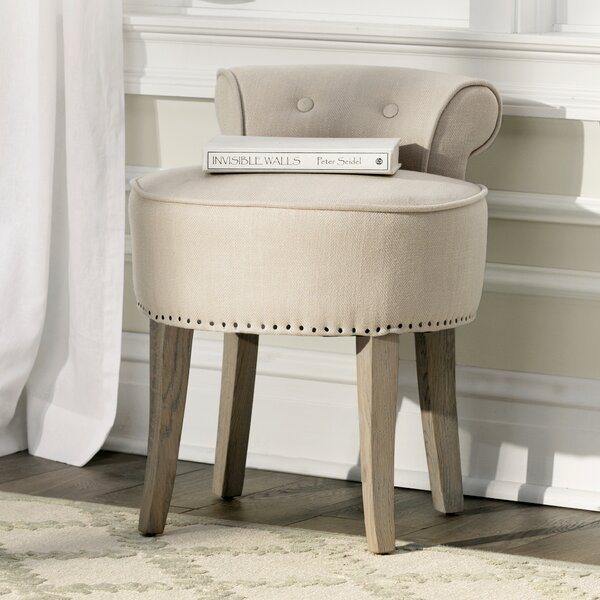 Charly Vanity Stool by Lark Manor
