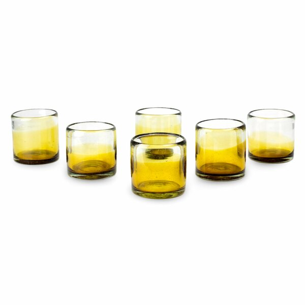 Javier and Efrén Water Glass Set (Set of 6) by Novica