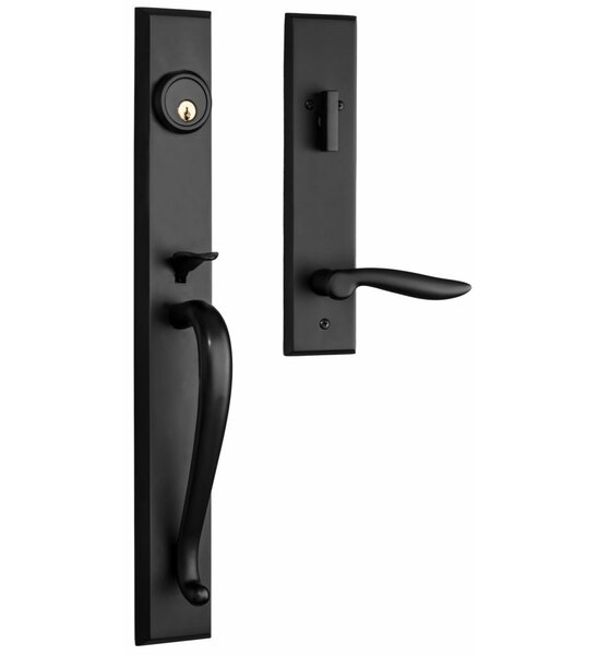 Premium Carmel Single Cylinder Handleset by Rockwell Security