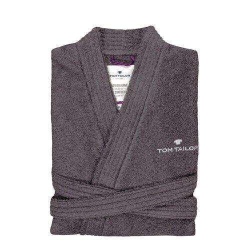 Bademantel Kimono | Bad > Sauna & Zubehör > Sauna-Textilien | Dunkelgrau | Tom Tailor