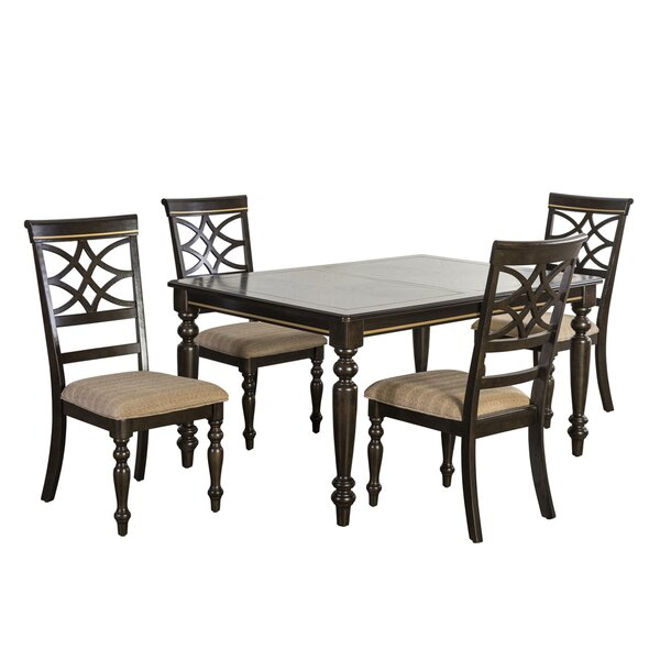 Entrekin 5 Piece Dining Set by Charlton Home