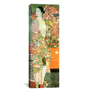 'The Dancer' by Gustav Klimt Painting Print on Canvas by iCanvas