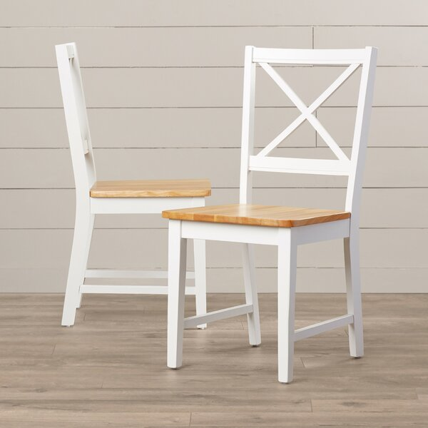 Bargain Powe Solid Wood Dining Chair (Set Of 2) By Andover Mills Wonderful