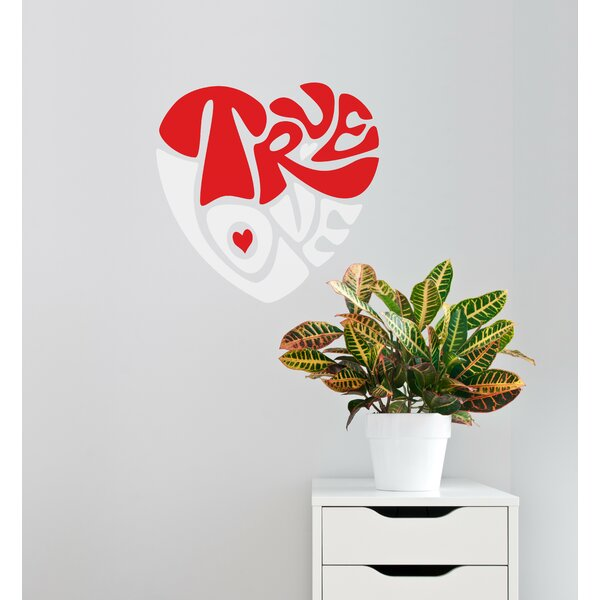 Mia & Co True Love Wall Decal by ADZif