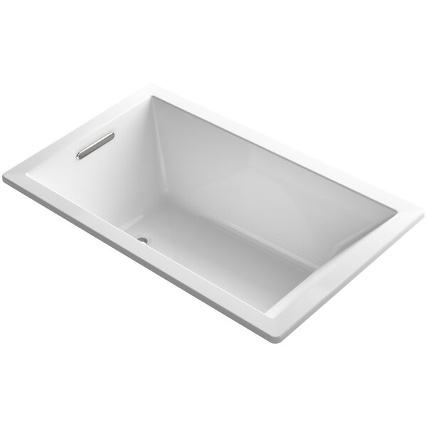 Underscore Vibracoustic 60 x 36 Soaking Bathtub by Kohler