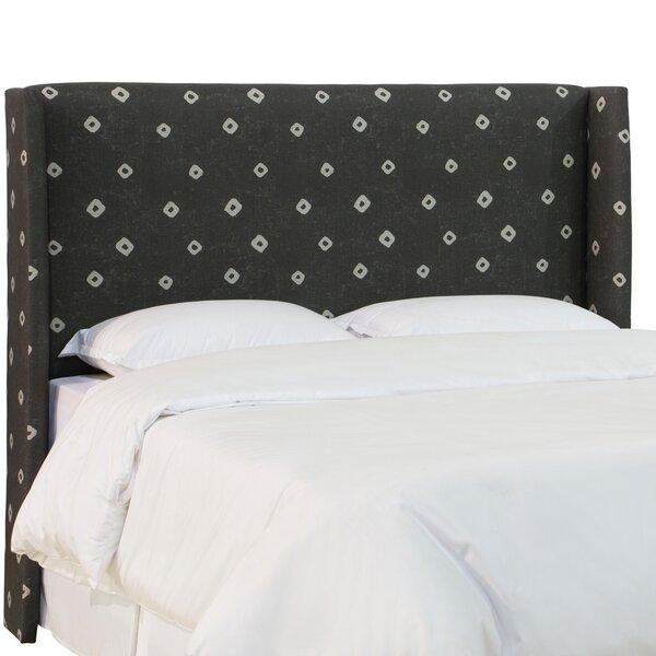 Tetrault Linen Upholstered Wingback Headboard by Brayden Studio