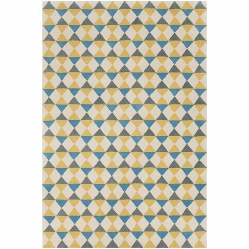 Lina Hand-Tufted Geometric Area Rug by Elle Decor