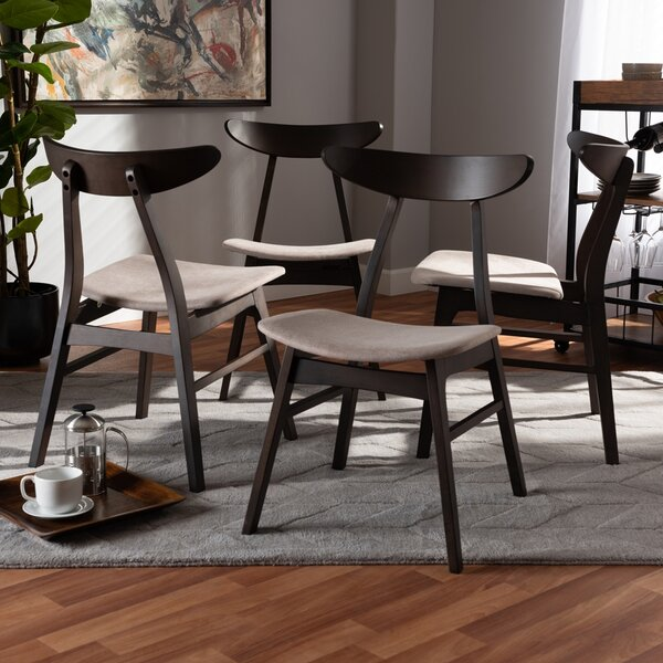 Chapp Solid Wood Dining Chair (Set Of 4) By Latitude Run