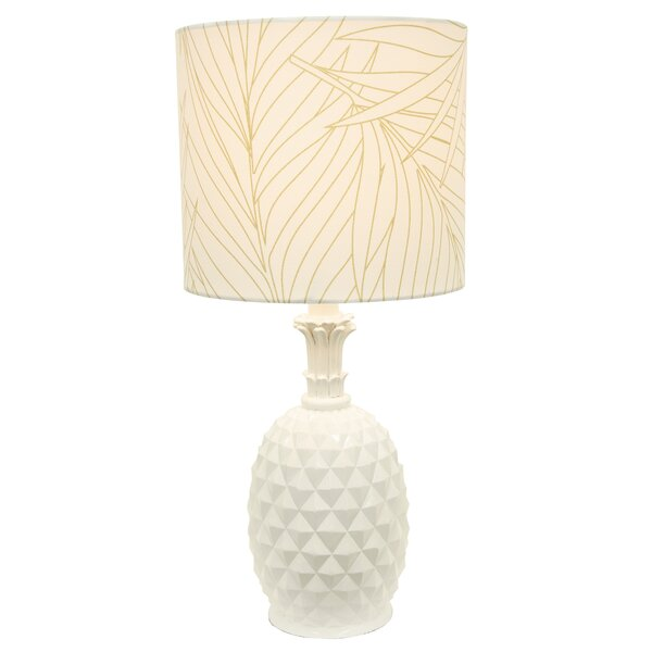 Gelston 19 Pineapple Table Lamp by Bay Isle Home