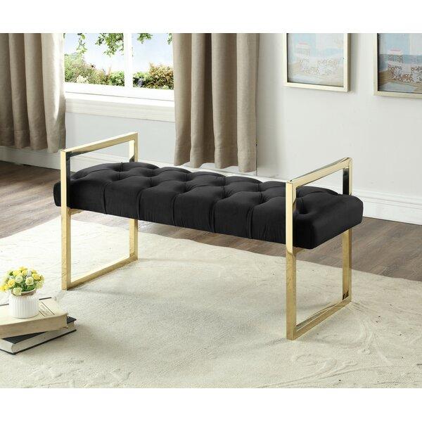 Emelle Upholstered Bench By Everly Quinn Fresh
