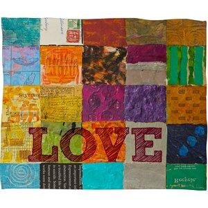 Elizabeth St Hilaire Nelson Love Throw Blanket