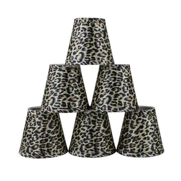 5 Leopard Empire Lamp Shade (Set of 6) by Bloomsbury Market