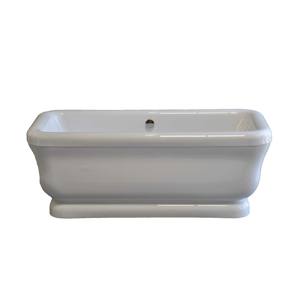 Solitude 70 x 34 Soaking Bathtub by Strom Plumbing by Sign of the Crab