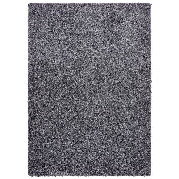 Broncho  Black Area Rug by Three Posts