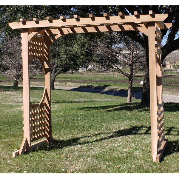 Colonial Cedar Wood Arbor by Threeman Products