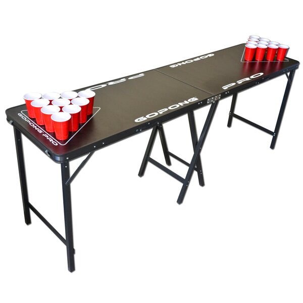 Pro 8 Premium Beer Pong Table For Bars By Gopong.