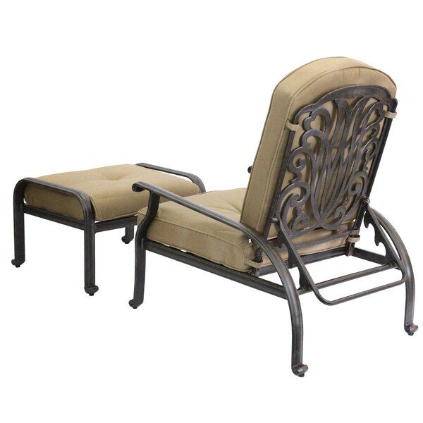Lebanon Deep Seating Patio Chair with Cushions by Three Posts