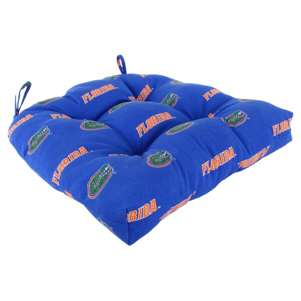 NCAA Florida Gators Indoor/Outdoor Dining Chair Cushion by College Covers
