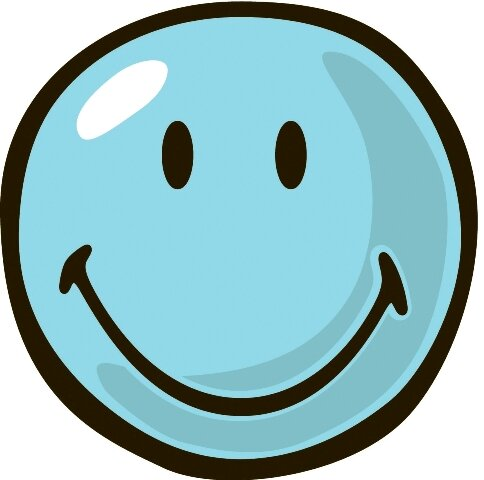 Smiley World Blue Smiley Area Rug by Fun Rugs