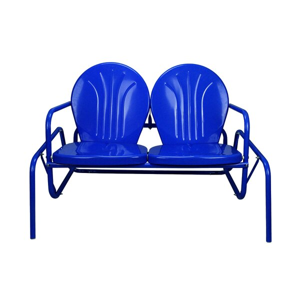 Retro Tulip Glider Bench by LB International