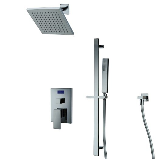 Dual Function Shower Faucet Lever Handle by Sumerain International Group