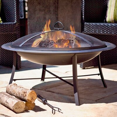 Outdoor Fireplaces & Fire Pits Sale - Up to 60% Off ... on Quillen Steel Wood Burning Outdoor Fireplace id=31310
