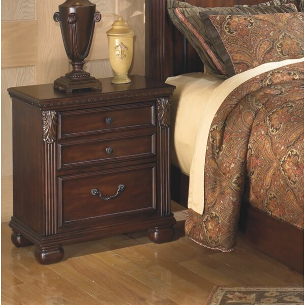 Rosia 2 Drawer Night Stand By Astoria Grand by Astoria Grand Bargain