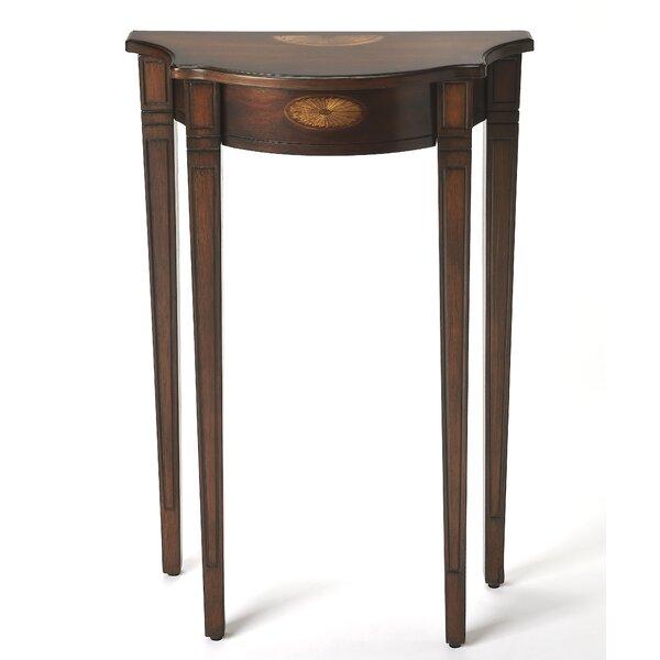 Amedori Demilune End Table By Astoria Grand