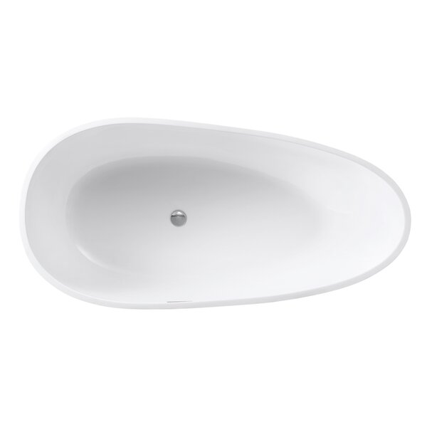 VersaStone 67 H x 34 W Soaking Bathtub by Avanity