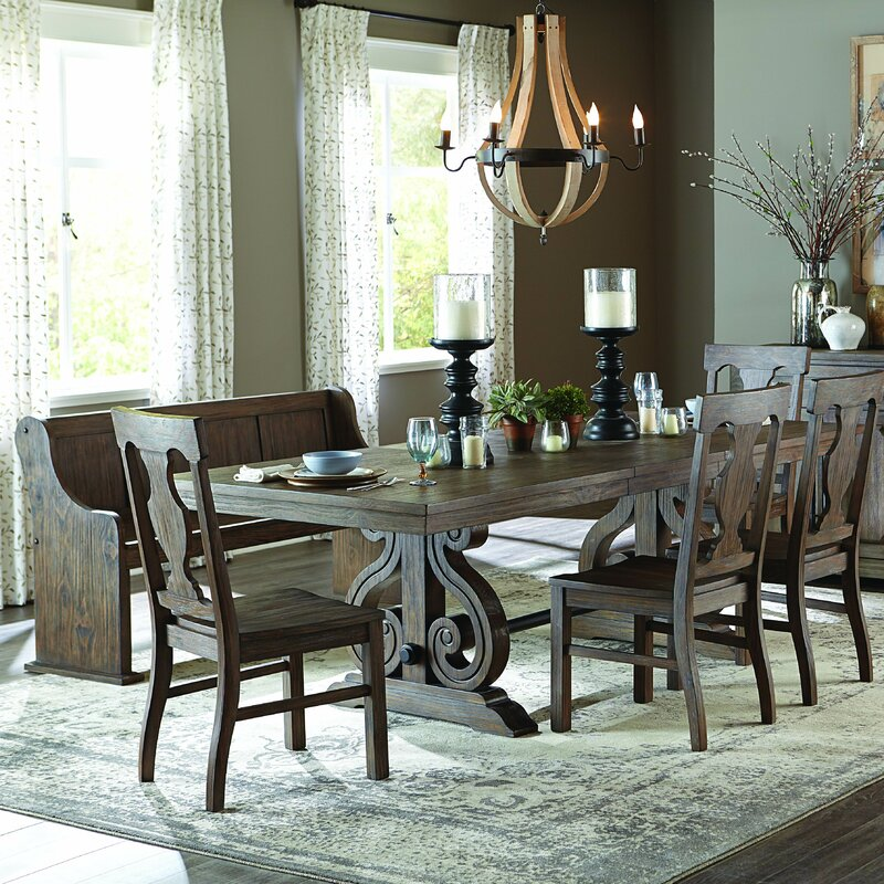 Darby Home Co Phyllis Piece Dining Set Reviews Wayfair - Alyssa dining room set