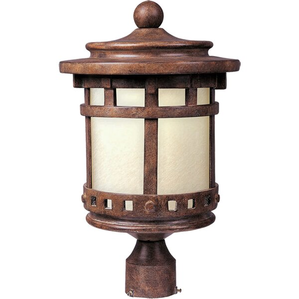 Casimir 1-Light Outdoor Post Light by Loon Peak