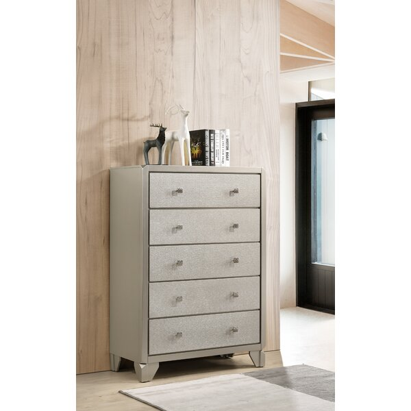 Yates 5 Drawer Chest by Rosdorf Park