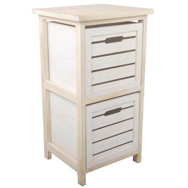 Dunlevy Wood Drawer Shelf by Alcott Hill