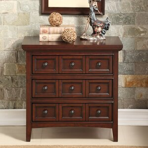 Princeton 3 Drawer Nightstand by Alcott Hill